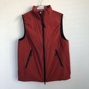 Hill City Thermal Light Full Zip Red Vest
